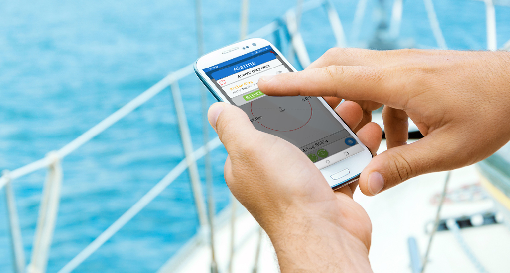 Receive alerts anywhere on board