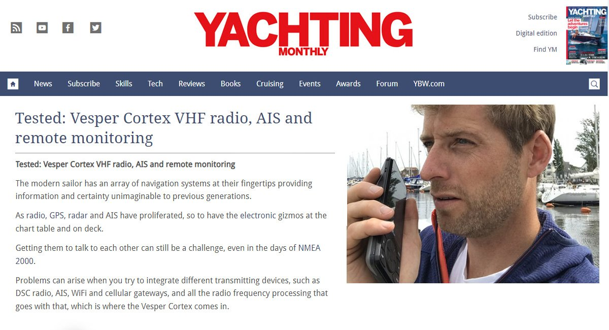 Yachting Monthly In-depth Cortex Product Review